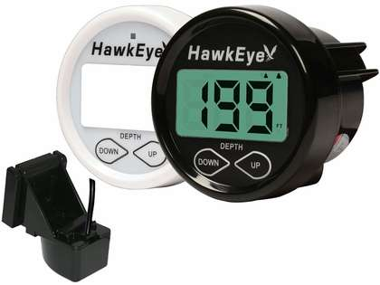 HawkEye D10D Depth Finder - Transom/In-Hull