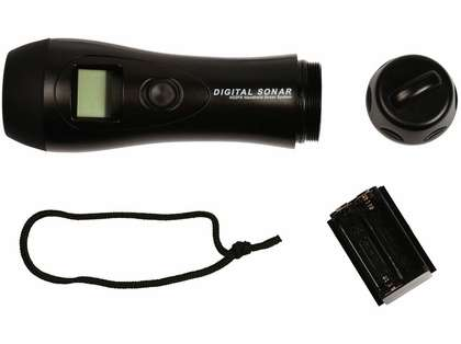 HawkEye H22PX Handheld Depth Finder w/ Air/Water Temp.
