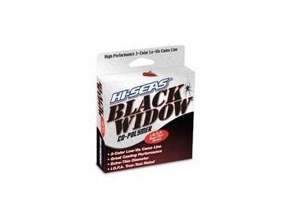 Hi-Seas Black Widow IGFA Micro-Thin Camo Line 300yd Spool BWT-F300-06