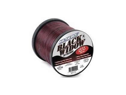 Hi-Seas Black Widow IGFA Micro-Thin Camo Line 1/4 lb. Spool BWT-Q-15