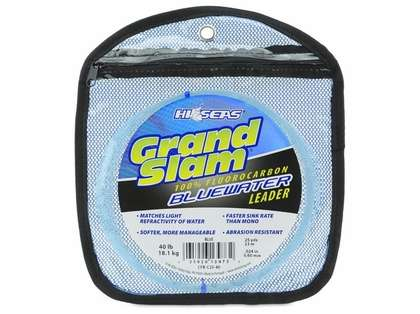 Hi-Seas Grand Slam Bluewater Fluorocarbon Leader 25 yd.