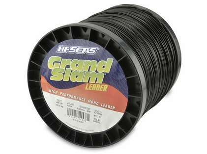 Hi-Seas Grand Slam Leader 5 lb. Spool Black