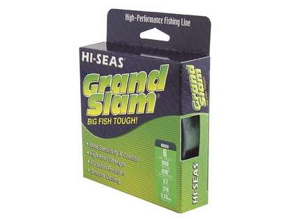 Hi-Seas Grand Slam Mono 1/4 lb. Spool Fluorescent Yellow GSM-Q-40FY