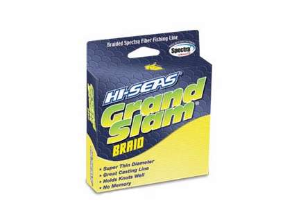 Hi-Seas GSB-F150-80FY Grand Slam Braid 150yds