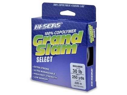 Hi-Seas GSC-F250-30MG Grand Slam Select Moss Green 30lb 300yds
