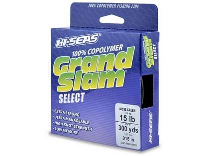 Hi-Seas GSC-F300-15MG Grand Slam Select Moss Green 15lb 300yds
