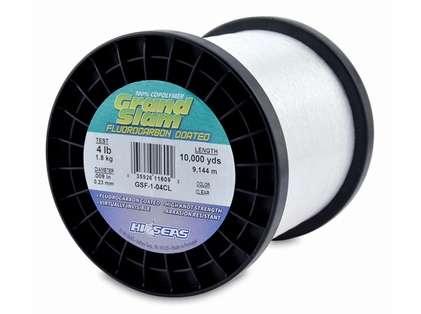 Hi-Seas GSF-1-04CL Grand Slam Fluorocarbon Coated 4lb 1lb Spool