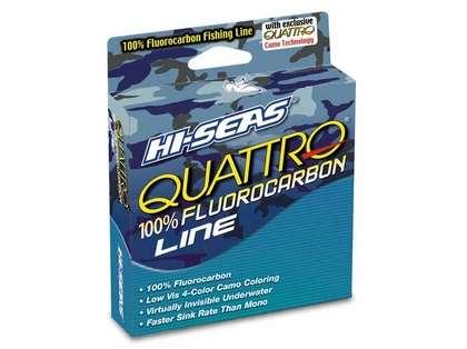 Hi-Seas Quattro Fluorocarbon Camo Line 1000yd Filler Spool