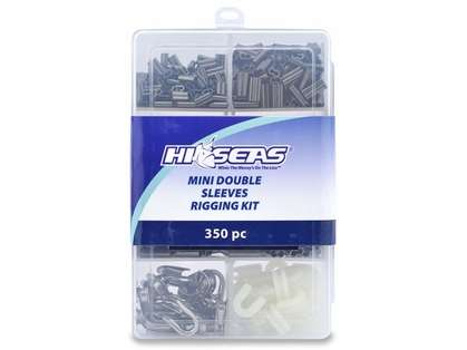 Hi-Seas TKB00002 Mini Double Sleeves Rigging Kit, 350 Pieces