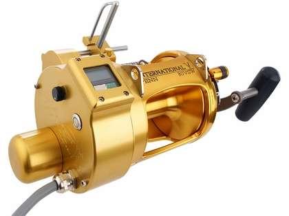 Hooker Penn 80VSW Electric Reel w/ Level Wind & Auto Stop Counter