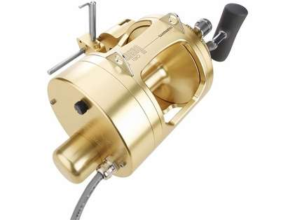 Hooker Shimano 130A w/ Motor, Level Wind & Counter