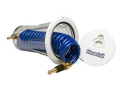 HoseCoil HC15F Flush Mount Enclosure with 15' HP High Performance Hose