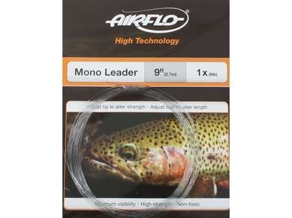 Airflo HT9 Mono Tapered Leader 6X / 3lb