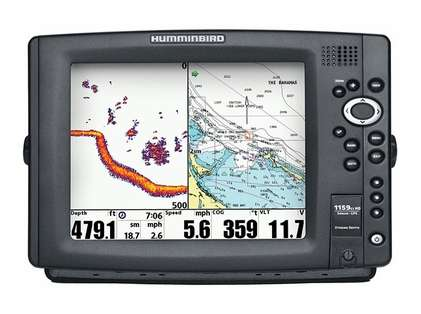 Humminbird 1159ci HD XD Combo - Dual Beam TM Transducer