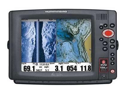 Humminbird 1199ci HD SI Combo Side Imaging TM Transducer KVD Edition