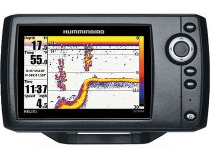 Humminbird 409590-1 HELIX 5 Sonar w/ Temperature
