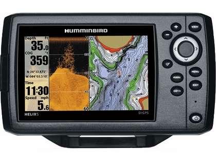 Humminbird 409620-1 HELIX 5 DI/GPS Combo w/ Temperature
