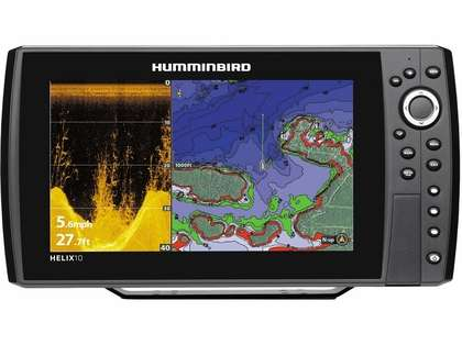 Humminbird 409970-1 HELIX 10 DI/GPS Combo