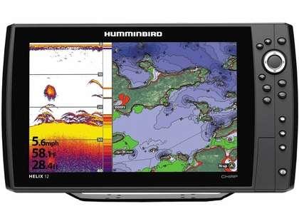 Humminbird 410000-1 HELIX 12 CHIRP GPS Combo
