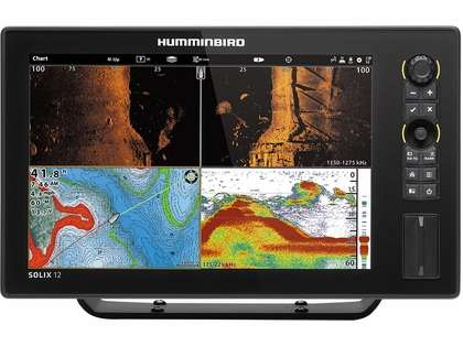 Humminbird 410400-1 SOLIX 12 CHIRP MEGA SI GPS Combo