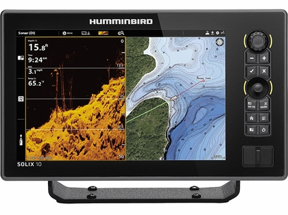 Humminbird SOLIX 10 G2 - CHIRP MEGA DI Fishfinder/GPS - Display Only