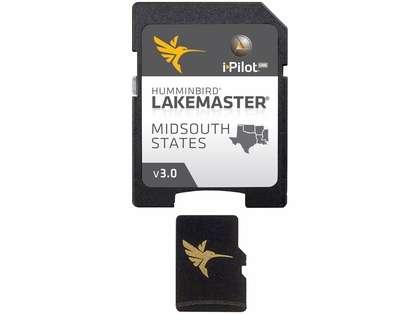Humminbird 600009-5 LakeMaster Chart - MidSouth States - MicroSD/SD