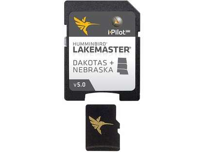 Humminbird 600013-3 Lakemaster Chart - Dakotas/Nebraska - MicroSD/SD