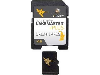 Humminbird 600015-4 LakeMaster PLUS Great Lakes - MicroSD/SD