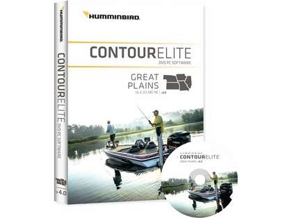 Humminbird 600018-3 Contour Elite - Great Plains - PC Software