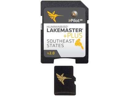 Humminbird 600023-5 LakeMaster PLUS SouthEast States - MicroSD/SD