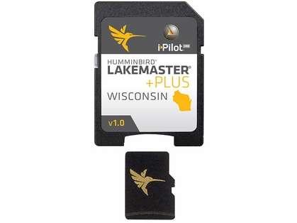 Humminbird 600025-3 LakeMaster Wisconsin PLUS - MicroSD/SD