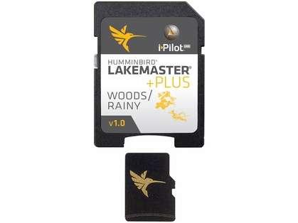 Humminbird 600027-3 LakeMaster PLUS Woods/Rainy - MicroSD/SD