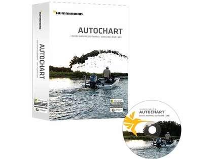 Humminbird 600031-1 Autochart DVD PC Mapping Software