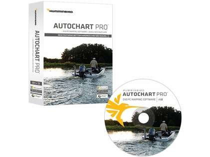 Humminbird 600032-1 AutoChart PRO DVD PC Mapping Software