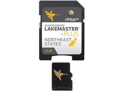 Humminbird 600045-1 LakeMaster NorthEast States PLUS - MicroSD/SD