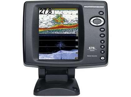 Humminbird 678c HD DI Fishfinder w/ Down Imaging TM Transducer