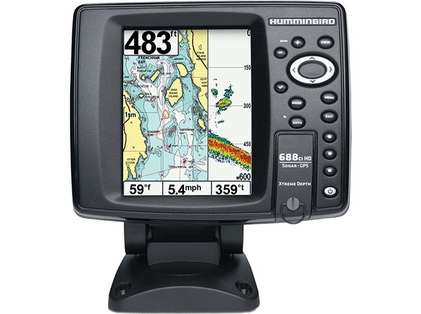 Humminbird 688ci HD XD Combo - 200/50kHz TM Transducer