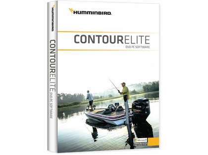 Humminbird Contour Elite DVD PC Software