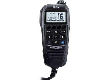 Icom HM195GB COMMANDMICIV Remote-Control Microphone - Black