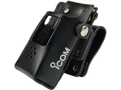 Icom LCM72S Leather Case w/ Swivel Belt Clip