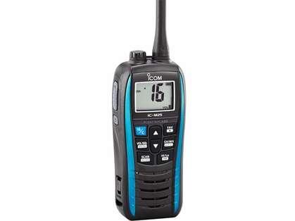 Icom M25 51 Float and Flash VHF Radio - Marine Blue