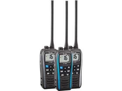 Icom M25 Float and Flash VHF Radios