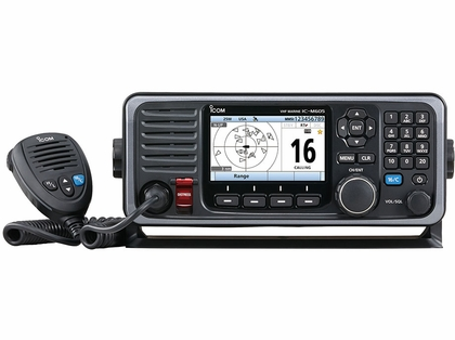 Icom M605 Fixed Mount 25W VHF w/ Color Display