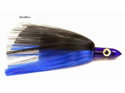 IL JR450 Blue Head Lure Mylar Blue/White