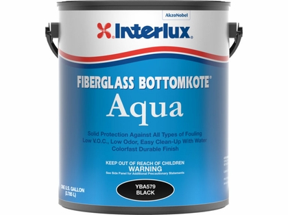 Interlux Fiberglass Bottomkote Aqua ? Waterbased - Black