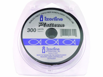 Izorline Platinum Co-Polymer Monofilament Fishing Line
