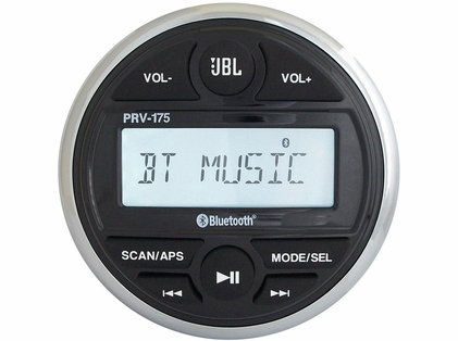 JBL PRV175 Gauge Style AM/FM/USB/Bluetooth Stereo