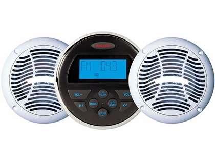 Jensen CPM150 AM/FM/USB Bluetooth Stereo & Speakers Package