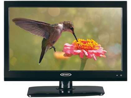 Jensen JE1914DVDC 19'' LCD Television with DVD Player