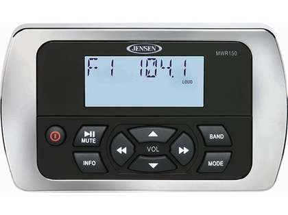 Jensen MWR150 Full Display Wired Marine Remote Control